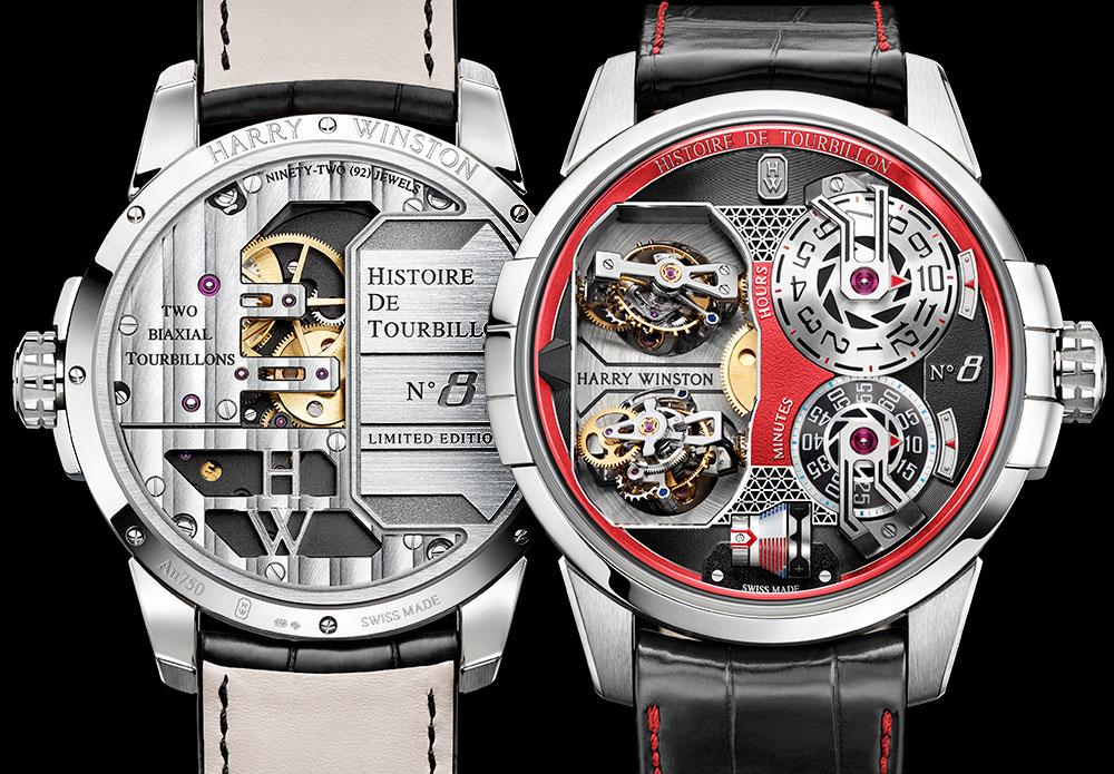 Harry Wiston y su nuevo reloj HDT 8