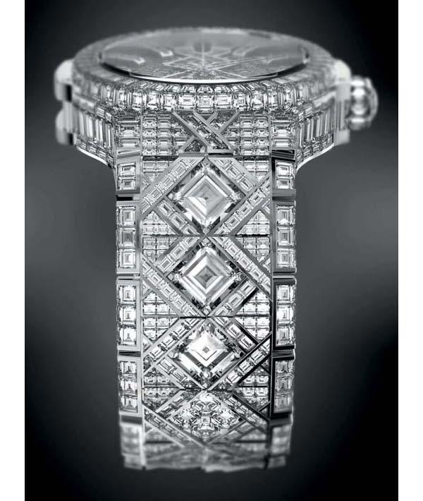 relojes mas caro del mundo, hublot big ban de diamantes y oro blanco
