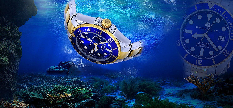 Modelos de relojes resistentes al agua